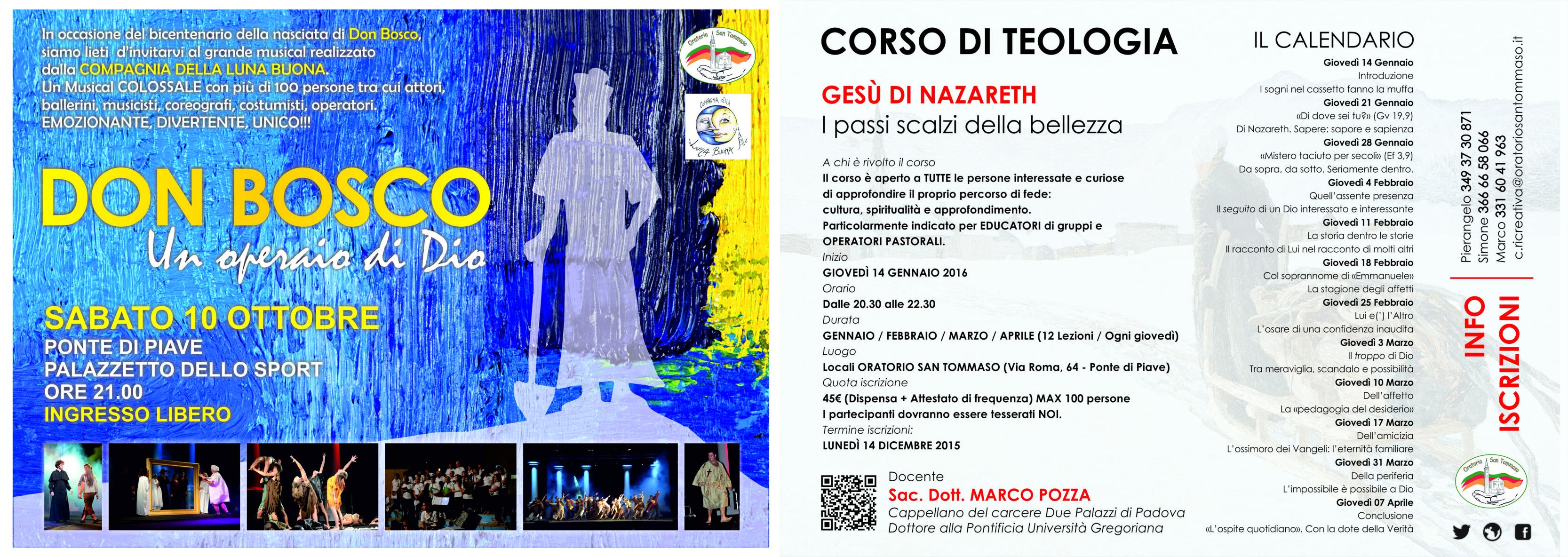 Proposte NOI Oratorio assieme alla parrocchia di Ponte di Piave