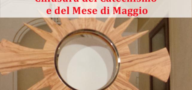 Festa del Corpus Domini, chiusura del catechismo e del mese di maggio